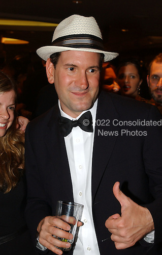 Washington, DC - May 1, 2004 -- Matt Drudge arrives for the 2004 White House Correspondents Association Dinner in Washington, D.C. on May 1, 2004..Credit: Ron Sachs / CNP.(RESTRICTION: No New York Metro or other Newspapers within a 75 mile radius of New York City)