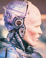 RoboCop (1987) <br /> Behind the scenes photo of Peter Weller<br /> *Filmstill - Editorial Use Only*<br /> CAP/KFS<br /> Image supplied by Capital Pictures