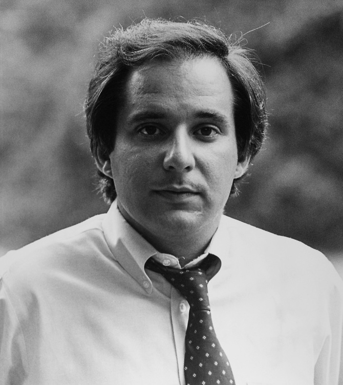 Close-up of Rep. Robert Torricelli, D-N.J., in 1983. (Photo by CQ Roll Call)