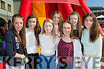 Having fun at the KDYS Youth day in the INEC on Sunday were l-r: Anna Mae Clifford Fossa, Ella teahan Milltown, Maeve Rochford Milltown, Ally O'Mahony Dingle, Niamh browne Milltown, Sarah O'Shea Milltown Katie Long Dingle