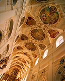 AUSTRIA, Frauenkirchen, an interior of the Basilica Baroque Church, Burgenland