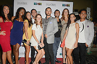 MIAMI BEACH, FL - MAY 22: Stephanie Andron, Denia Hall, Karina d'Erizans, David Turetsky, Victoria Serra, Nathan Lieberman, Eyal Vick, Morgan More, Nancy Sayegh and Kris Andres attend The Catalina reality show premiere party at Catalina Hotel on May 22, 2012 in Miami Beach, Florida. (photo by: MPI10/MediaPunch Inc.)