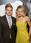 Andrew Keenan Bolger and Celia Keenan Bolger attends the Broadway Opening Night Performance of 'Present Laughter' at St. James Theatreon April 5, 2017 in New York City