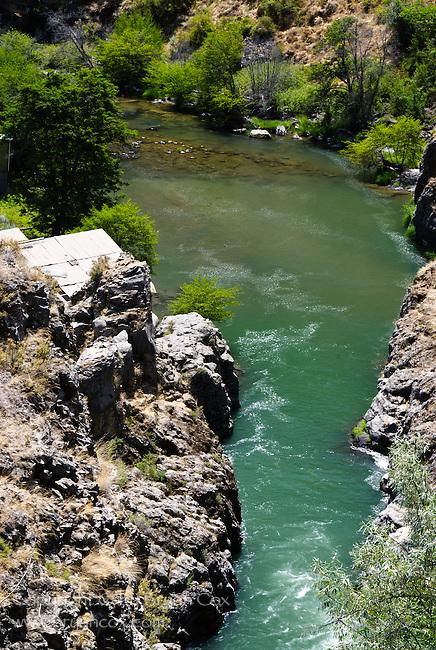 Below White River Falls, White River Falls State Park, Oregon
