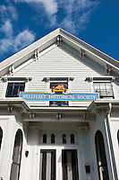 Wellfleet Historical Society building, Cape Cod, Massachusetts, USA