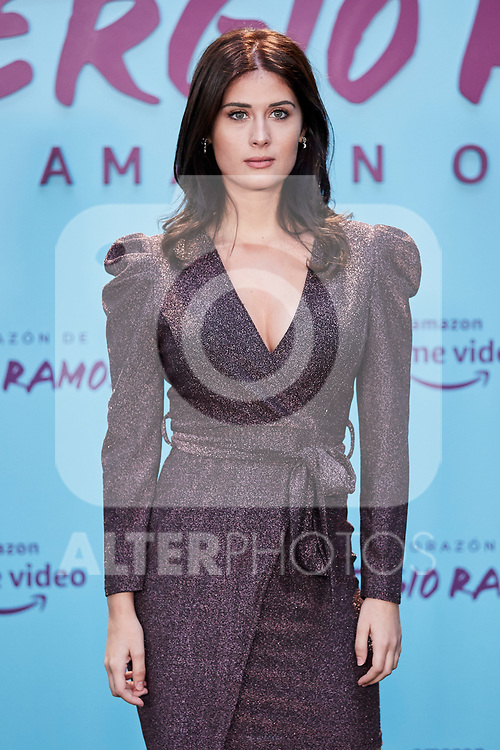 "Nerea Camacho attends to ""El Corazon De Sergio Ramos"" premiere at Reina Sofia Museum in Madrid, Spain. September 10, 2019. (ALTERPHOTOS/A. Perez Meca)"