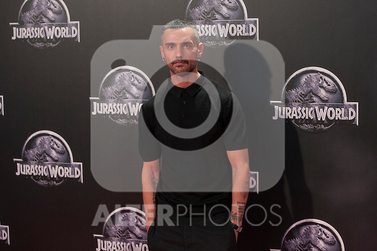 David Delfin attends Jurassic World film premiere in Madrid, Spain. Junio 11, 2015. (ALTERPHOTOS/Victor Blanco)