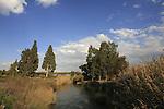 Israel, Beth Shean valley. Nahal Kibbutzim (Kibbutzim Stream)