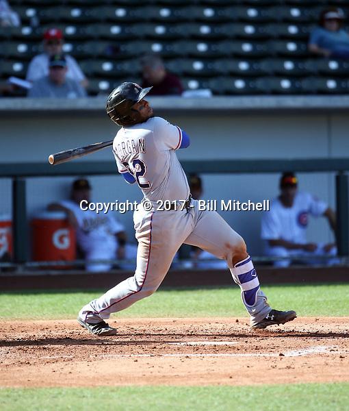 Josh Morgan - Surprise Saguaros - 2017 Arizona Fall League (Bill Mitchell)