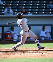 Josh Morgan - Surprise Saguaros - 2017 Arizona Fall League (Bill Mitchell)