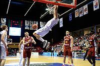 GRONINGEN - Donar - KK Bosna, Martiniplaza, Europe Cup, seizoen 2017-2018, 15-11-2017,  dunk van Donar speler Drago Pasalic