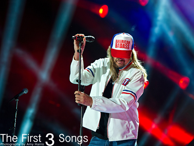 Kid Rock performs with Zac Brown at LP Field during Day 1 of the 2013 CMA Music Festival in Nashville, Tennessee.