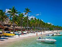 DOM, Dominikanische Republik, Punta Cana, am Bavaro Beach   DOM, Dominican Republic, Punta Cana, at Bavaro Beach