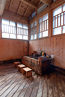 Houshi Onsen Choju no yu washing area.