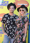 Mark Ballas and BC Jean<br /> <br /> <br /> <br /> <br /> <br /> <br />  attends 2015 Nickelodeon Kids' Choice Awards  held at The Forum in Inglewood, California on March 28,2015                                                                               &copy; 2015 Hollywood Press Agency