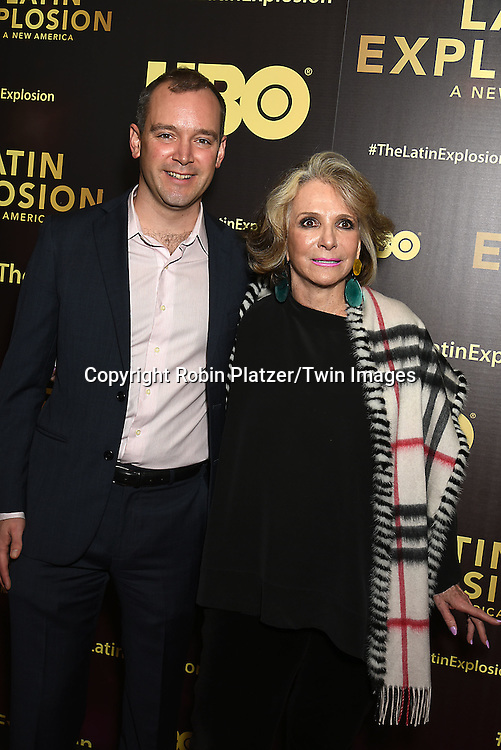 Matt O'Neill and Sheila Nevins attends the HBO premiere of &quot;The Latin Explosion: A New America&quot; on November 10, 2015 at the Hudson Theater in New York City, New York, USA.<br /> <br /> photo by Robin Platzer/Twin Images<br />  <br /> phone number 212-935-0770