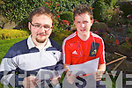 Gavin Dillon from Athea and Killian O'Donoghue from Abbeyfeale  received their Leaving Certificate Results on Thursday from St Ita's College, Abbeyfeale.