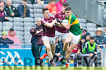 Sean O'Shea Kerry in action against  Galway in the All Ireland Minor Football Final in Croke Park on Sunday.