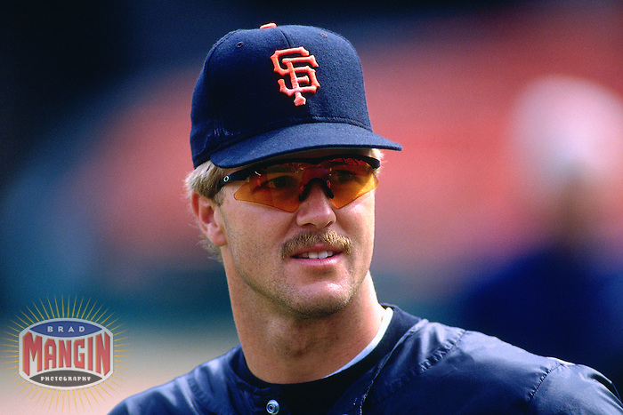 SAN FRANCISCO, CA - Jeff Kent of the San Francisco Giants takes batting practice before a game on April 5, 1997 at Candlestick Park in San Francisco, California. (Photo by Brad Mangin)