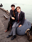 OMD 1981 Orchestral Manoeuvres   Andy McCluskey and Paul Humphreys
