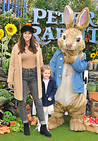 Imogen Thomas and Ariana Siena Horsley at the &quot;Peter Rabbit&quot; UK gala premiere, Vue West End cinema, Leicester Square, London, England, UK, on Sunday 11 March 2018.<br /> CAP/CAN<br /> &copy;CAN/Capital Pictures