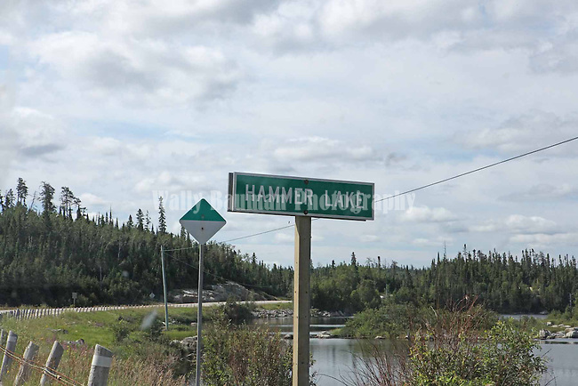 HAMMER LAKE,  ONTARIO, CANADA