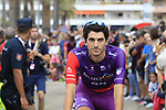Jorge Cubero Galvez (ESP) Burgos-BH arrives at sign on before the start of Stage 4 of La Vuelta 2019 running 175.5km from Cullera to El Puig, Spain. 27th August 2019.<br /> Picture: Eoin Clarke | Cyclefile<br /> <br /> All photos usage must carry mandatory copyright credit (© Cyclefile | Eoin Clarke)