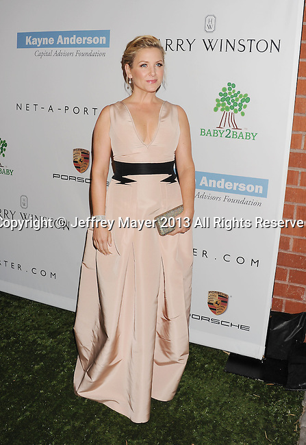 CULVER CITY, CA- NOVEMBER 09: Actress Jessica Capshaw arrives at the 2nd Annual Baby2Baby Gala at The Book Bindery on November 9, 2013 in Culver City, California.