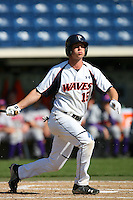 March 6 2009: David Harris of the Pepperdine Waves in action against the Evansville Purple Aces at Eddy D. Field Stadium in Malibu,CA.  Photo by Larry Goren/Four Seam Images