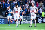 Stockholm 2014-04-27 Fotboll Allsvenskan Djurg&aring;rdens IF - IF Brommapojkarna :  <br /> Brommapojkarnas Gabriel Petrovic och Brommapojkarnas Pontus Segerstr&ouml;m deppar efter att Djurg&aring;rdens Erton Fejzullahu gjort 1-0<br /> (Foto: Kenta J&ouml;nsson) Nyckelord:  Djurg&aring;rden DIF Tele2 Arena Brommapojkarna BP depp besviken besvikelse sorg ledsen deppig nedst&auml;md uppgiven sad disappointment disappointed dejected
