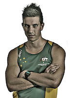 Jack Swift  (AUS)<br /> Paralympic Portraits - Sprinter<br /> Sydney Australia 2012<br /> London 2012 Paralympic Games<br /> &copy; Sport the library / Jeff Crow