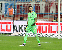 19th October 2019; Goalkeeper Ugurcan Cakir of Trabzonspor during the Turkish Super league football match between Trabzonspor and Gazisehir Gaziantepspor at Medical Park Stadium in Trabzon . Premier League Chelsea have agreed to sign the goalkeeper on a permanent basis