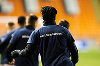 Blackpool's Armand Gnanduillet warms up<br /> <br /> Photographer Alex Dodd/CameraSport<br /> <br /> The EFL Sky Bet League One - Blackpool v Tranmere Rovers - Tuesday 10th March 2020 - Bloomfield Road - Blackpool<br /> <br /> World Copyright © 2020 CameraSport. All rights reserved. 43 Linden Ave. Countesthorpe. Leicester. England. LE8 5PG - Tel: +44 (0) 116 277 4147 - admin@camerasport.com - www.camerasport.com
