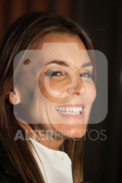 Model Mar Flores attends Santiago Palacio´s fashion show in Madrid, Spain. November 13, 2014. (ALTERPHOTOS/Victor Blanco)