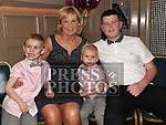 Rosie Smith celebrating her 60th birthday with her grandchildren Shane, Cillian and Jake in the Thatch. Photo:Colin Bell/pressphotos.ie