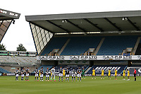 A one minute silence ahead of kick-off in memory of keyworkers during Millwall vs Swansea City, Sky Bet EFL Championship Football at The Den on 30th June 2020