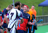 Action from the National Senior Men's Hockey Tournament match between NZ Defence Force and Tasman at National Hockey Stadium in Wellington, New Zealand on Monday, 17 September 2018. Photo: Dave Lintott / lintottphoto.co.nz