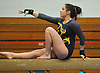 Jenny Mullan of Massapequa performs on the balance beam during a Nassau County varsity gymnastics meet against South Side at McKenna Elementary School in Massapequa Park on Monday, Jan. 29, 2018.