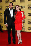 January 15, 2010:  Julianne Moore, Tom Ford arrives at the 15th Annual Critics' Choice Movie Awards held at the Palladium in Los Angeles, California. .Photo by Nina Prommer/Milestone Photo