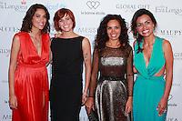 LAURIE CHOLEWA, FAUVE HAUTOT, AIDA TOUIHRI, LAURENCE ROUSTANDJEE - GLOBAL GIFT GALA 2016 AU FOUR SEASON HOTEL GEORGE V PARIS