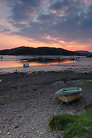 Sunset over the Rough Firth from Kippford, a small coastal village in Dumfries and Galloway<br /> <br /> Copyright www.scottishhorizons.co.uk/Keith Fergus 2011 All Rights Reserved