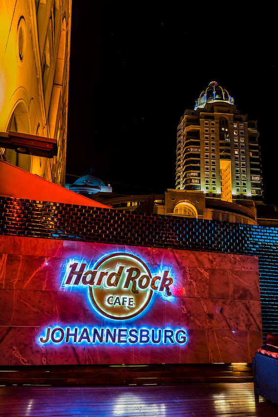 Hard Rock Cafe, Nelson Mandela Square, Sandton, Johannesburg, South Africa.
