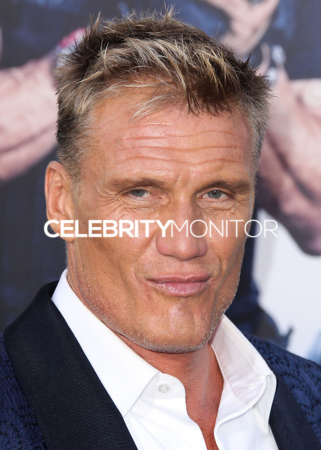 HOLLYWOOD, LOS ANGELES, CA, USA - AUGUST 11: Dolph Lundgren at the Los Angeles Premiere Of Lionsgate Films' 'The Expendables 3' held at the TCL Chinese Theatre on August 11, 2014 in Hollywood, Los Angeles, California, United States. (Photo by Xavier Collin/Celebrity Monitor)