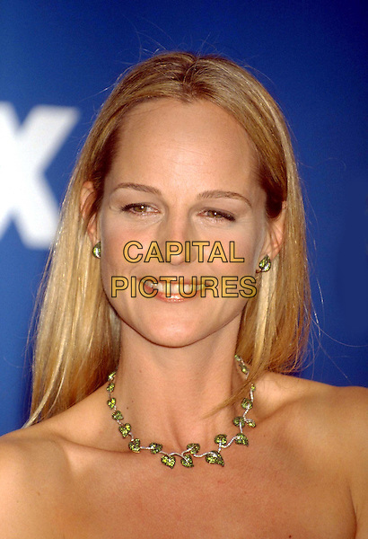 HELEN HUNT.Ref: :8854.www.capitalpictures.com.sales@capitalpictures.com.©Capital Pictures.emerald leaf necklace.headshot, portrait