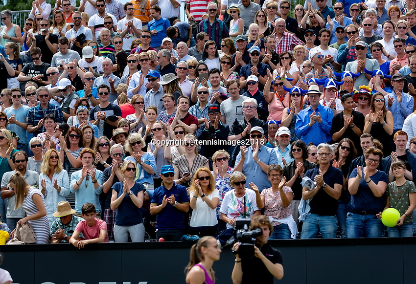 Den Bosch, Netherlands, 16 June, 2018, Tennis, Libema Open, crowd<br /> <br /> Photo: Henk Koster/tennisimages.com