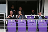 Orlando, Florida - Saturday January 13, 2018: Brad Friedel, Remi Roy, and Mike Burns. Match Day 1 of the 2018 adidas MLS Player Combine was held Orlando City Stadium.