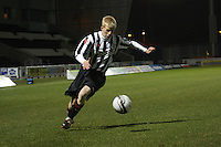 Jack Smith in the St Mirren v Heart of Midlothian Clydesdale Bank Scottish Premier League U20 match played at St Mirren Park, Paisley on 6.11.12.