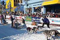 2009 Iditarod Ceremonial Start Anchorage Alaska March 7, 2009