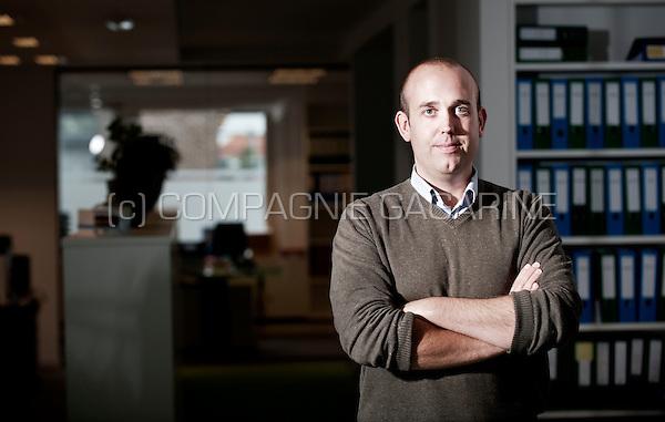 Jeroen De Muynck, manager of MDMJ Accountants (Belgium, 08/10/2015)