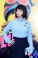 """LOS ANGELES - FEB 2:  Kate Micucci at """"The Lego Movie 2: The Second Part"""" Premiere at the Village Theater on February 2, 2019 in Westwood, CA"""